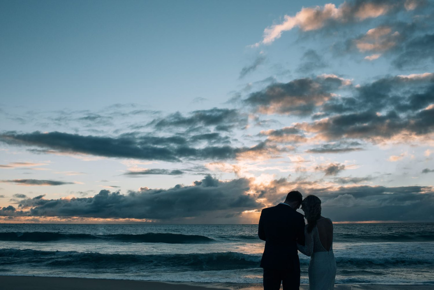 floreat kiosk beach wedding by freedom garvey photographer